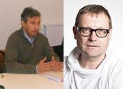 Patrick Salvi pour le SETCa et Philippe Degeneffe pour le Manège